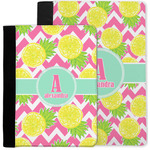Pineapples Notebook Padfolio w/ Name and Initial