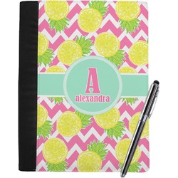 Pineapples Notebook Padfolio (Personalized)