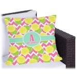 Pineapples Outdoor Pillow (Personalized)