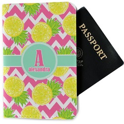 Pineapples Passport Holder - Fabric (Personalized)