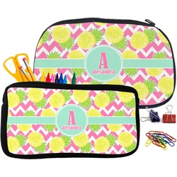 Pineapples Pencil / School Supplies Bag (Personalized)