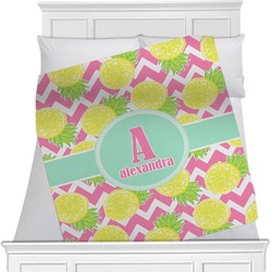 Pineapples Minky Blanket (Personalized)