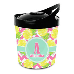 Pineapples Plastic Ice Bucket (Personalized)
