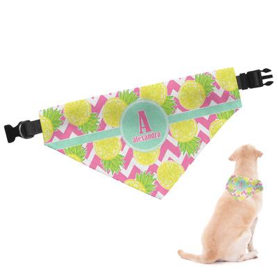 Pineapples Dog Bandana (Personalized)