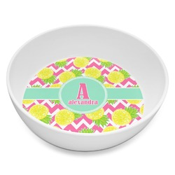 Pineapples Melamine Bowl 8oz (Personalized)