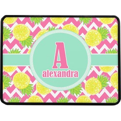 """Pineapples Rectangular Trailer Hitch Cover - 1.25"""" (Personalized)"""