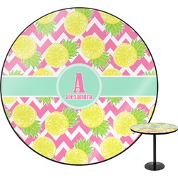 Pineapples Round Table (Personalized)
