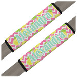 Pineapples Seat Belt Covers (Set of 2) (Personalized)