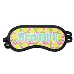 Pineapples Sleeping Eye Mask (Personalized)