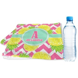 Pineapples Sports Towel (Personalized)