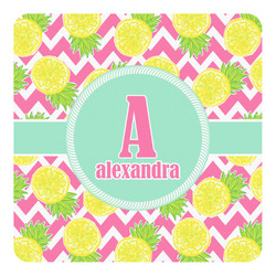 Pineapples Square Decal (Personalized)