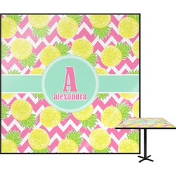 Pineapples Square Table Top (Personalized)