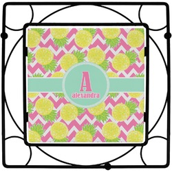 Pineapples Square Trivet (Personalized)