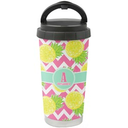 Pineapples Stainless Steel Travel Mug (Personalized)
