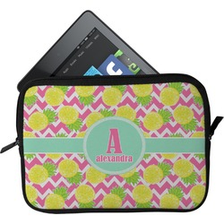 Pineapples Tablet Case / Sleeve (Personalized)