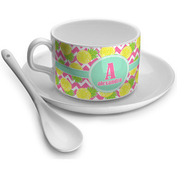 Pineapples Tea Cups (Personalized)