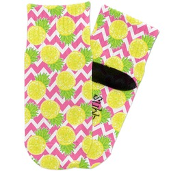 Pineapples Toddler Ankle Socks (Personalized)