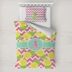 Pineapples Toddler Bedding w/ Name and Initial