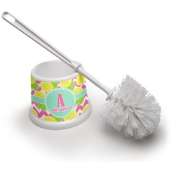 Pineapples Toilet Brush (Personalized)