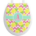 Pineapples Toilet Seat Decal (Personalized)