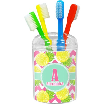Pineapples Toothbrush Holder (Personalized)