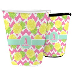 Pineapples Waste Basket (Personalized)