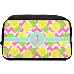 Pineapples Toiletry Bag / Dopp Kit (Personalized)