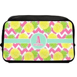 Pineapples Toiletry Bag / Dopp Kit (Personalized)