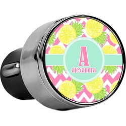 Pineapples USB Car Charger (Personalized)