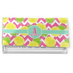 Pineapples Vinyl Checkbook Cover (Personalized)