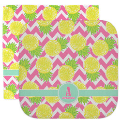 Pineapples Facecloth / Wash Cloth (Personalized)