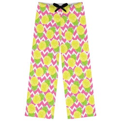 Pineapples Womens Pajama Pants (Personalized)