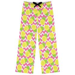 Pineapples Womens Pajama Pants (Personalized)