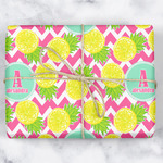 Pineapples Wrapping Paper (Personalized)
