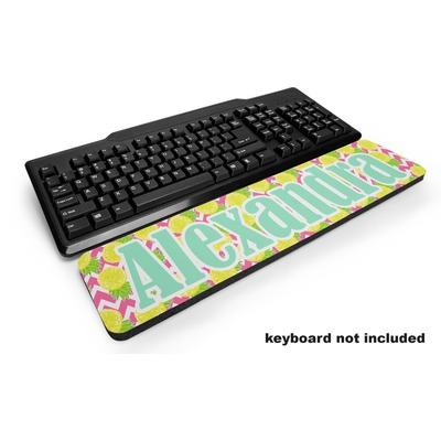 Pineapples Keyboard Wrist Rest (Personalized)