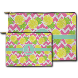 Pineapples Zipper Pouch (Personalized)
