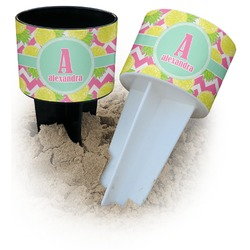 Pineapples Beach Spiker Drink Holder (Personalized)