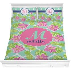 Preppy Hibiscus Comforters (Personalized)