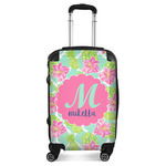 Preppy Hibiscus Suitcase (Personalized)