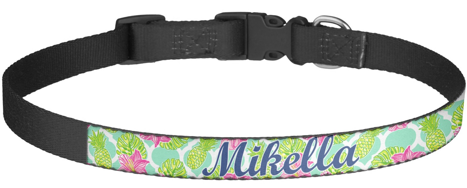 Personalized Preppy Dog Collars