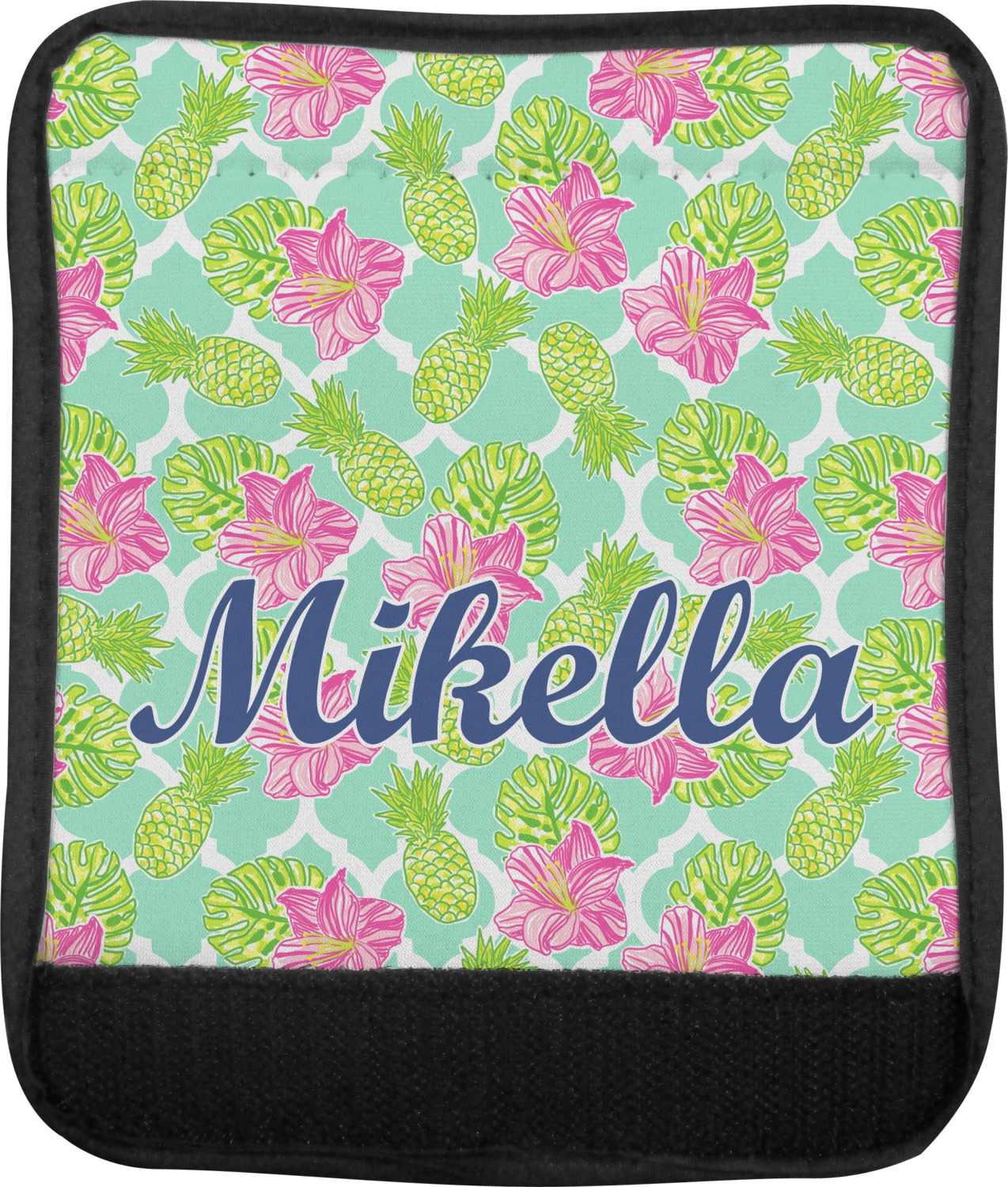 Personalized Preppy Hibiscus Kids Backpack