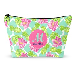 Preppy Hibiscus Makeup Bags (Personalized)