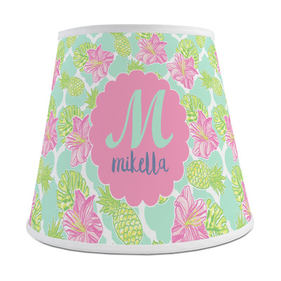 Preppy Hibiscus Empire Lamp Shade (Personalized)