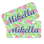 Preppy Hibiscus Mini/Bicycle License Plates (Personalized)
