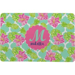 "Preppy Hibiscus Comfort Mat - 18""x27"" (Personalized)"