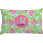 Preppy Hibiscus Pillow Case (Personalized)