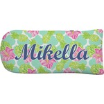 Preppy Hibiscus Putter Cover (Personalized)