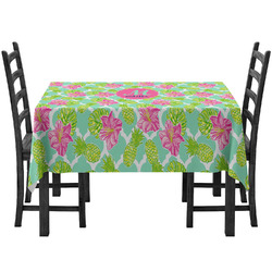 Preppy Hibiscus Tablecloth (Personalized)