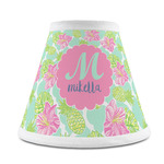 Preppy Hibiscus Chandelier Lamp Shade (Personalized)