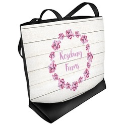 Farm House Beach Tote Bag (Personalized)